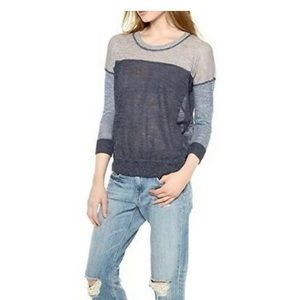 Madewell color-block sweater